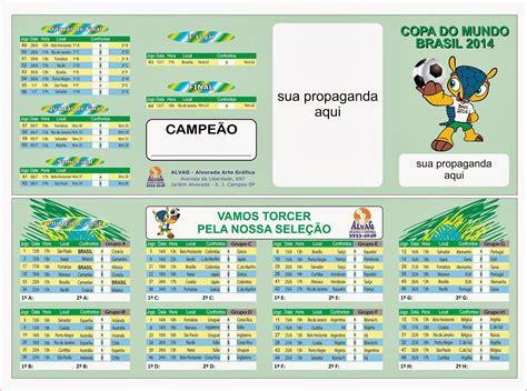 Tabela Da Copa Alvag Tabela Da Copa 2014