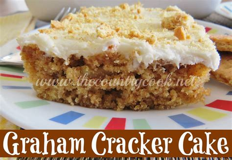 graham cracker cake the country cook