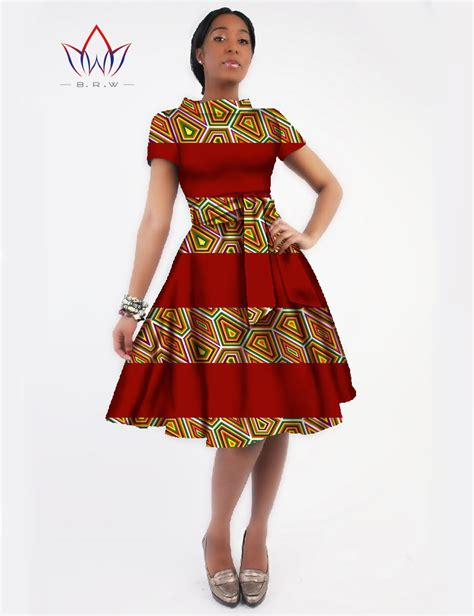 african print party dress new women 2016 dress sashes jurken brand clothing african
