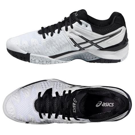 asics gel resolution 6 mens tennis shoes ss16