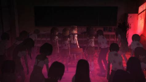 School Live Gakkou Gurashi 2 the overlook theatre zombies meet slice of anime in school live