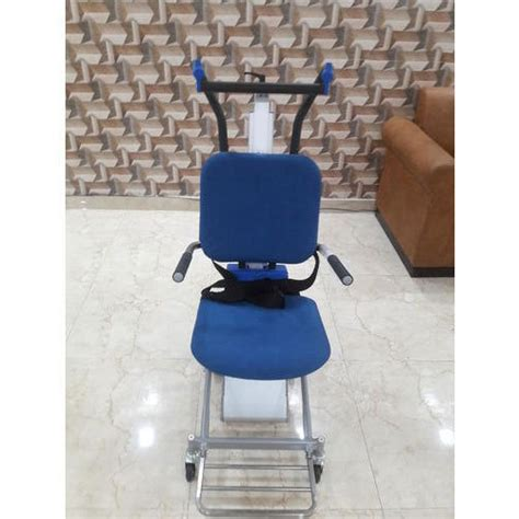 motorized chair for stairs electric stair climbing wheelchair at rs 280000 unit