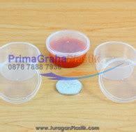 Cup Sambal mangkok cup sambal fla puding 30 ml sudah termasuk tutup