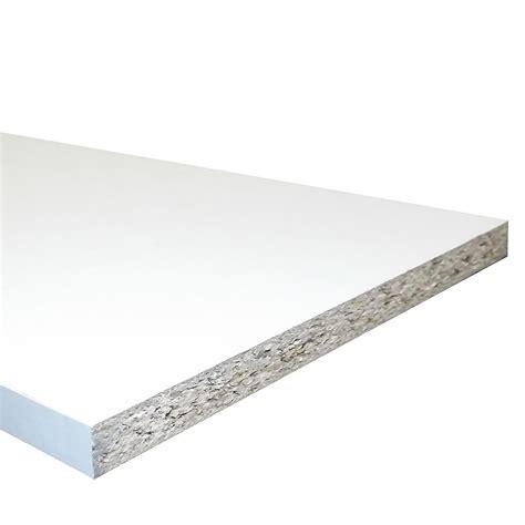 White Melamine Faced Chipboard Shelving 15mm X 4 X 8 White Melamine Shelves