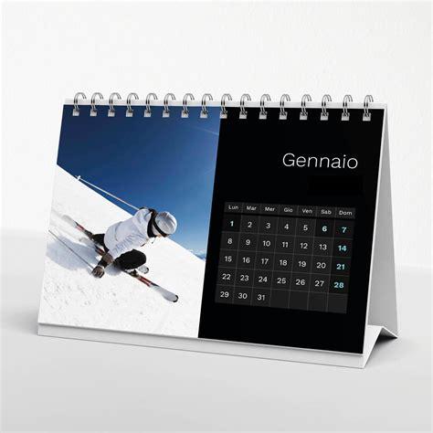 calendari da tavolo calendario da tavolo black 02 21x15 cm il fotoalbum