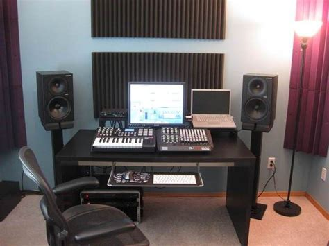 Music Studio Desk Ikea Home Music Studio Pinterest Home Recording Studio Desk Ikea