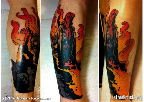 hellboy tattoo hellboy artists org