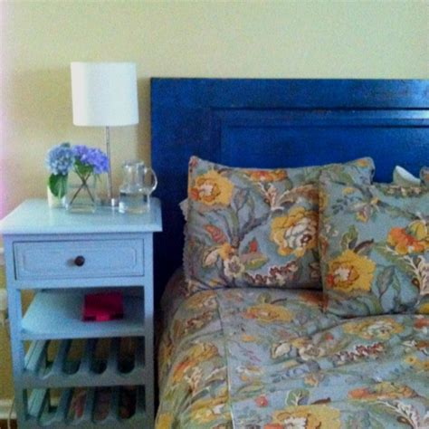 headboard out of door headboard made out of old door home made decor