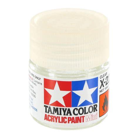 tamiya acrylic paint clear x 22 tamiya 10ml acrylic mini x 22 clear wargamestore