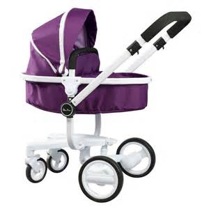 Cross damson purple surf 3 in 1 dolls pram girls toy ages 3 8 preview