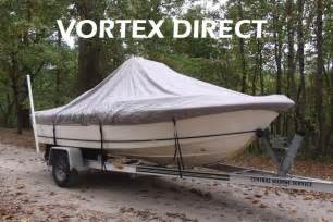 Centre Console Canopy by New Vortex Grey 19 6 Quot Center Console Boat Cover For Up To