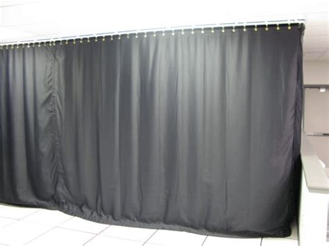 black light curtains light blocking industrial black out curtains for work areas