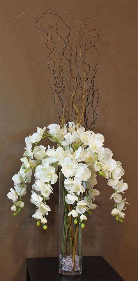 white orchid centerpieces reserved for 8 phalaenopsis orchid centerpieces in