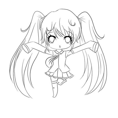 Amazing Chibi Drawing Coloring Page Netart Anime Anime Vire Coloring Pages Printable