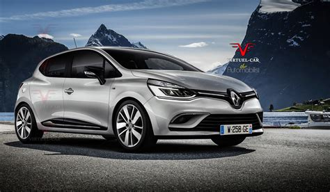 clio renault 2017 2017 renault clio iv facelift rendered based on recent