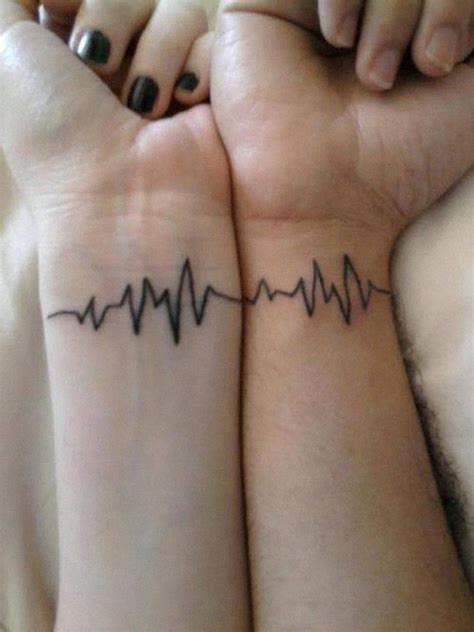 matching couple tattoos  lovers   grow