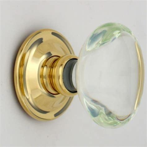 Bronze Glass Door Knobs by Clear Oval Glass Door Knobs Mortice Or Door Handles