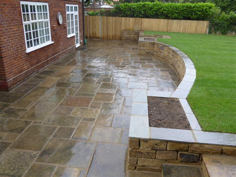 Patio Gardens Ideas Back Garden Patio Groundteam Limited Landscape Gardeners