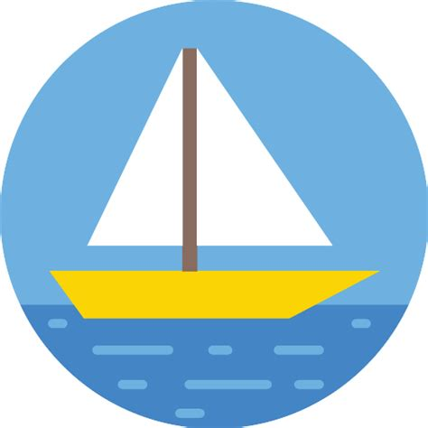 sailboat free transport icons - Sailboat Icon Free