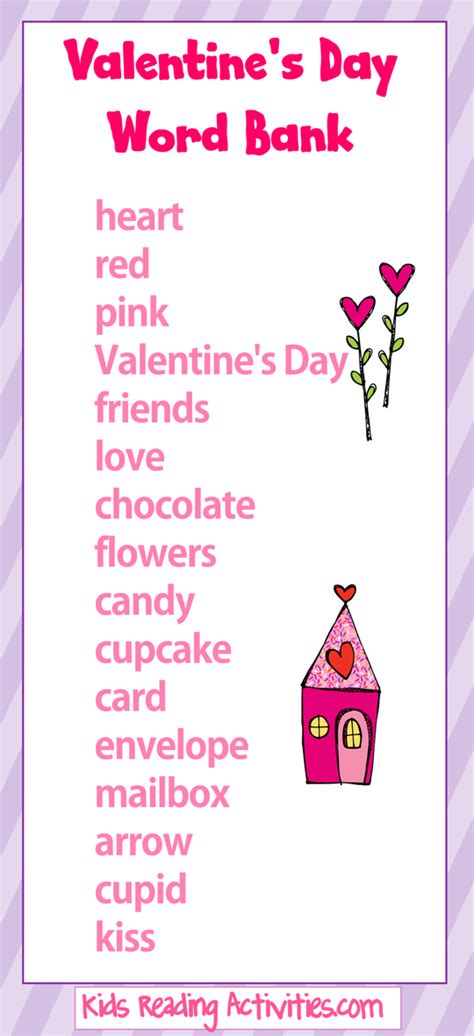words for valentines day valentine s day printables