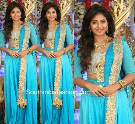 Blue M Dress 14600 anjali fashion trends south india fashion