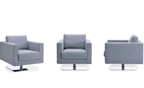 Armchair Media by Park Swivel Armchair Hivemodern