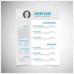 resume vectors photos and psd files free