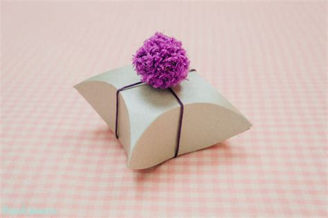 how to make a pillow gift box how to make square pillow gift box diy crafts handimania