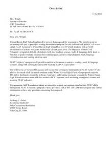 Cover Letter For Grant by Grant Cover Letter Sle Sle Business Letter