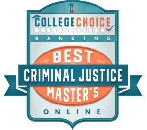 Altierus Career College Mba Criminal Justice by 35 Best Master S In Criminal Justice Degrees For 2018