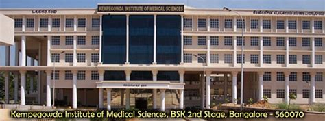 St Johns Mba Reviews by Kempegowda Institute Of Sciences Kims Bangalore