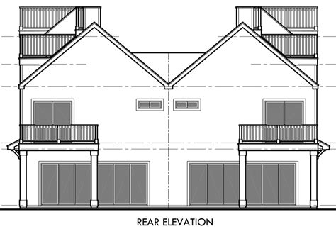 duplex beach house plans greeley cove vacation home plan 008d 0140 house plans and more small vacation cabin