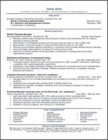 Sample Mba Resumes mba resumes resume 10 and info mba on pinterest marketing resume