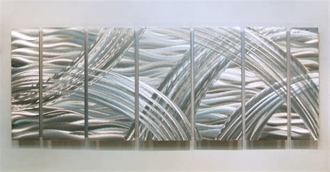 modern metal wall decor silver contemporary metal wall sculpture modern accent