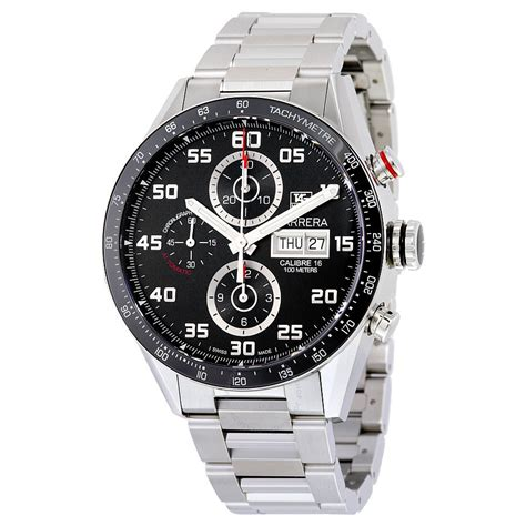 tag heuer carrera tag heuer carrera automatic chronograph men s watch cv2a1r