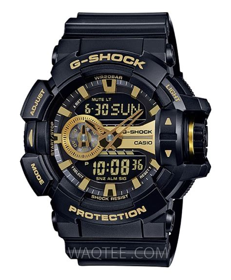 G Shock Ga 400 Rosegold Black Rubber Autolight On casio g shock protrek casio shop by brand