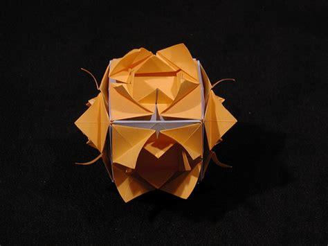 Origami Pinwheel Cube - froebel s basic forms pinwheel cube modular origami