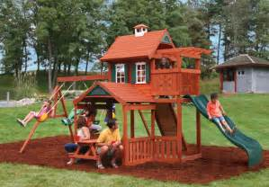 Childrens Wooden Swing Sets Step By Step On How To Build A Swing Set Woodesigner