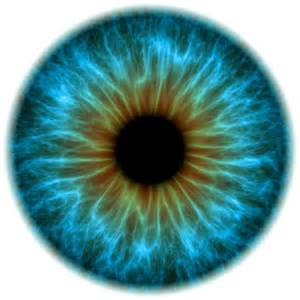 iris eye color and really do see things differently