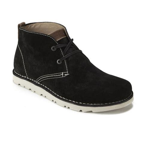 birkenstock boots mens birkenstock s harris suede desert boots black free
