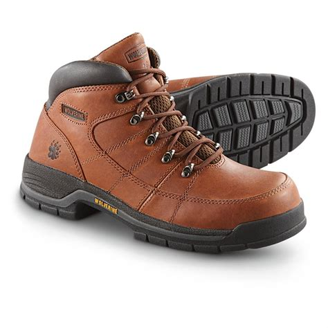 wolverine hiking boots s wolverine 174 davis moc toe hiking boots brown