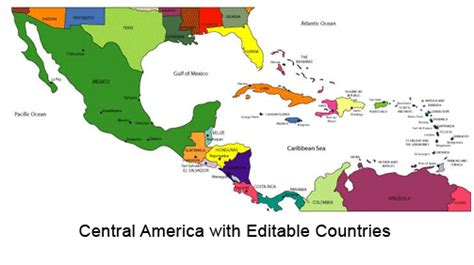 central america map with states and capitals central american states and capitals