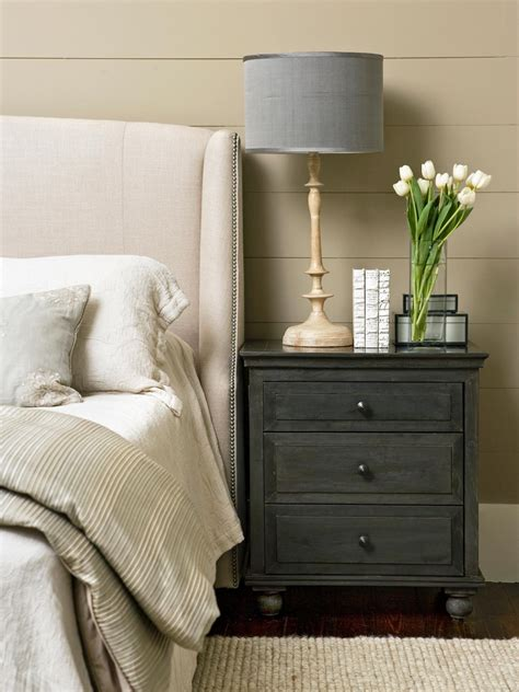 how should nightstands be clear the clutter on your stands
