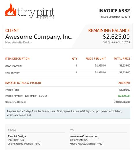 interior design invoice template joy studio design