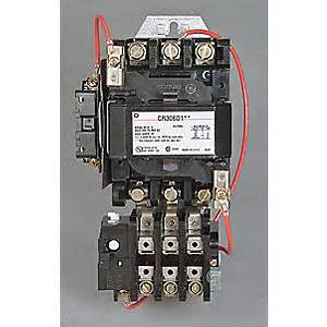 general electric magnetic motor starter nema 120v 3p 45a 3hxz2 cr306d002 grainger