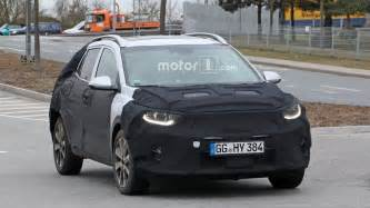 Kia Buy One Get One Kia Stonic Compact Crossover Spied On The Road