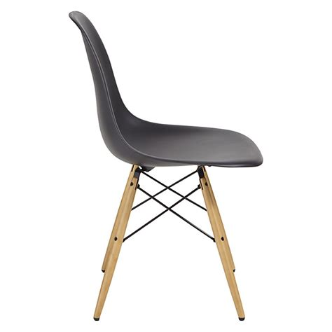 Dsw Dining Chair Set Of 2 Dsw Dining Chairs Eames Inspired Eiffel Wooden Legs Ebay