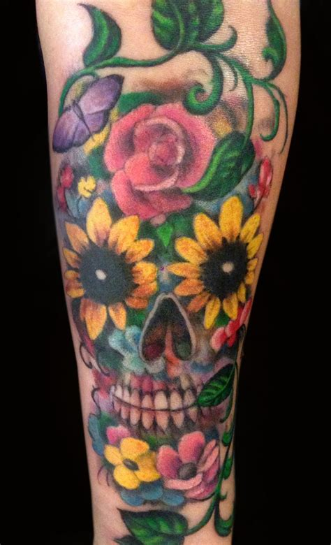 dead flower tattoo catrina day of the dead archives page 2 of 3 to