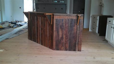 barnwood kitchen island barnwood countertop and kitchen island by mc269