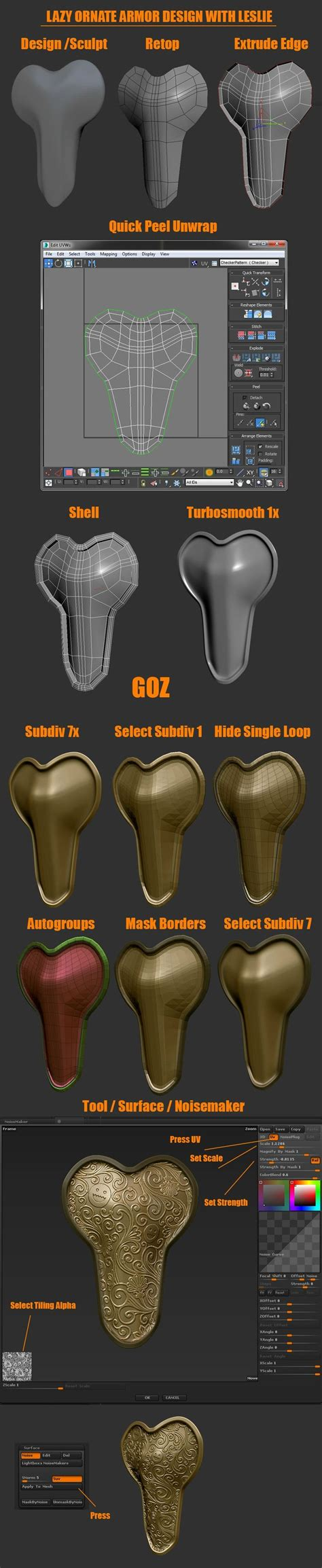 zbrush tutorials best 700 best zbrush tutos images on pinterest